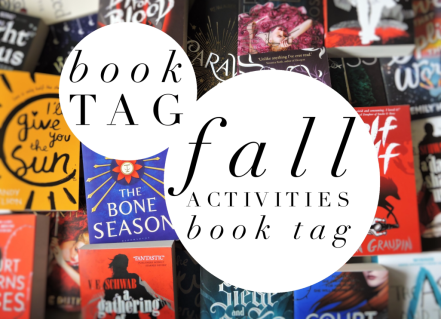 Fall Activities Book Tag